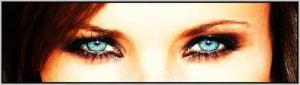 2 aqua eyes