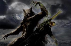 werewolfattackzombieart