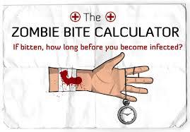 zombie bite caclulator