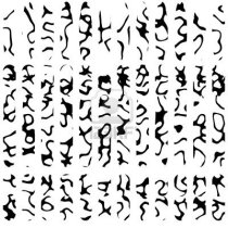 6754170-vertical-rows-of-unusual-unique-runes-or-ancient-symbols-from-dead-language-computer-generated-compl