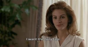 I want the fairy tale