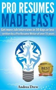 Pro Resumes Made Easy new cover April 2013