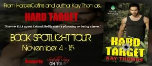 Hard Target Book Spotlight Tour Banner