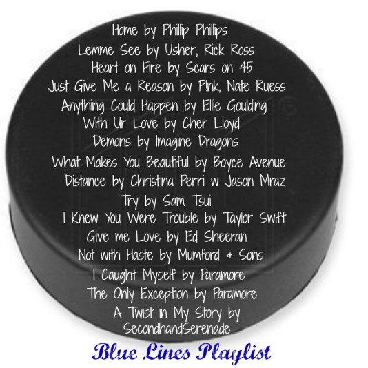 Blue LInes Playlist
