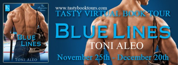 Book Tour for Blue Lines (Nashville Assassins #4) by Toni Aleo: Review & Giveaway