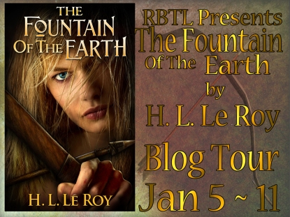 The Fountain of the Earth Blog Tour Banner