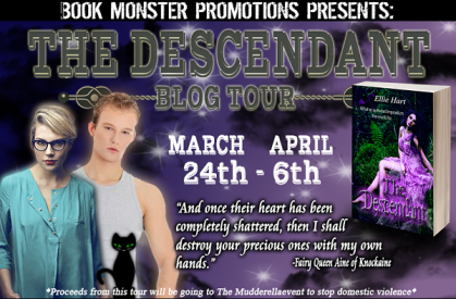 TOUR BUTTON - Ellie Hart - THE DESCENDANT