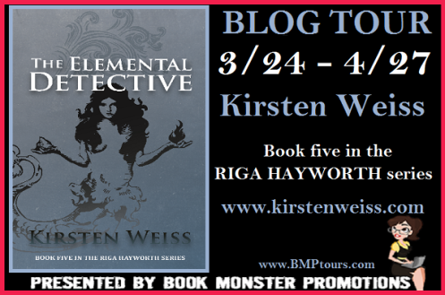 TOUR BUTTON - Kristen Weiss' ELEMENTAL DETECTIVE Tour