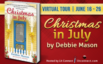 Badge- Christmas in July _ Debbie Mason
