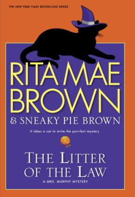 Litter of the Law Book COver