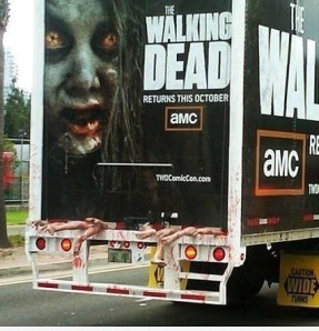 Walking Dead truck  follow that truck